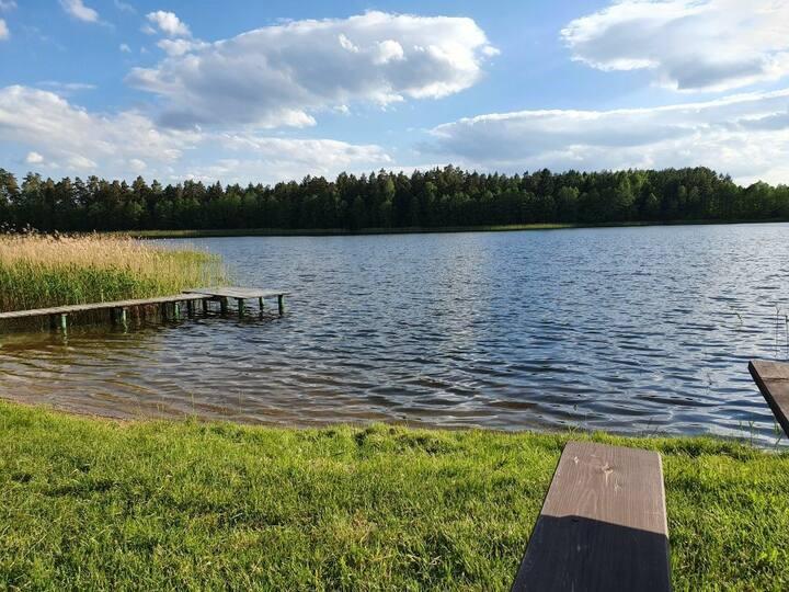 Sielska Parcela- Działka nad jeziorem, kemping