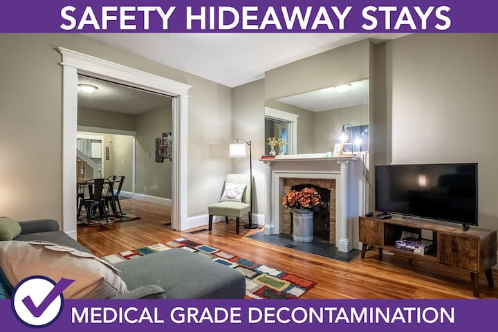 Safety Hideaway - Medical Grade Clean Home 94