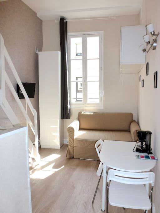Charmant studio meubl paris 15e appartements louer - Location meuble ile de france particulier ...