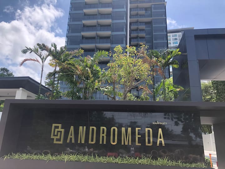 仙女座两卧 超级无敌270度海景房 被五星级酒店和网红餐厅包围的圣地 34D8-212 沈