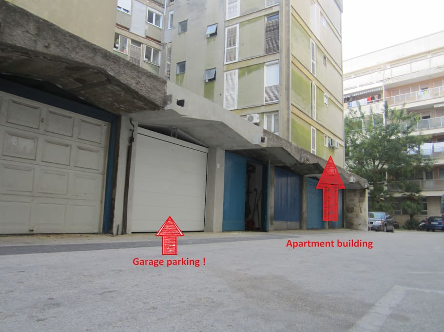 Free pre-book garage parking 10 m from the apartment !