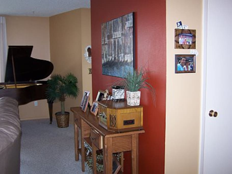entrance way, and yes you may play my baby grand piano :)