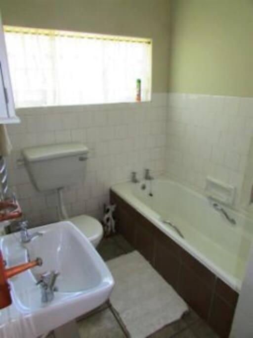 Bateleur Bathroom with separate Shower