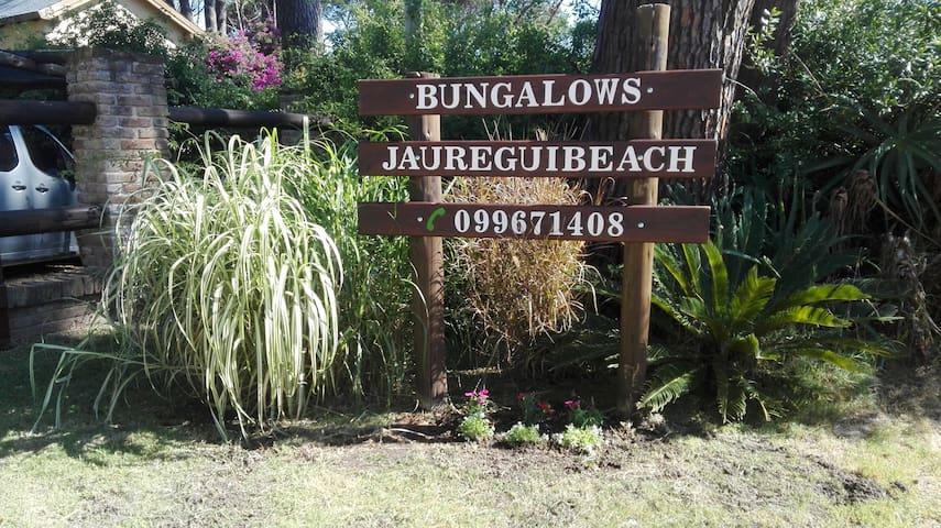 BUNGALOWS JAUREGUIBEACH . 80mts playa. Tranquilo,