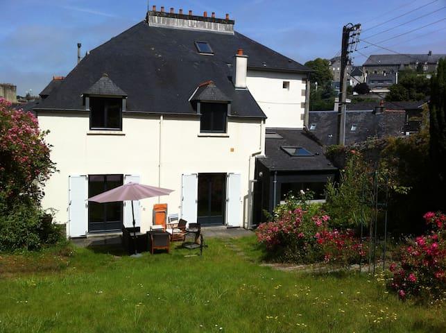 Maison ma tre centre ville morlaix casas en alquiler en morlaix breta a francia - Casas de alquiler en francia ...