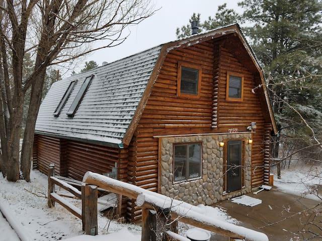 Independence Log Cabin