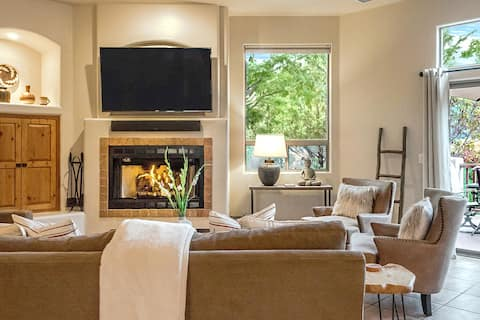 West Sedona 4BR on half acre w/ hot tub and views!