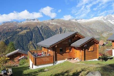Luxus 5 Sterne Chalet Weitblick in Bellwald