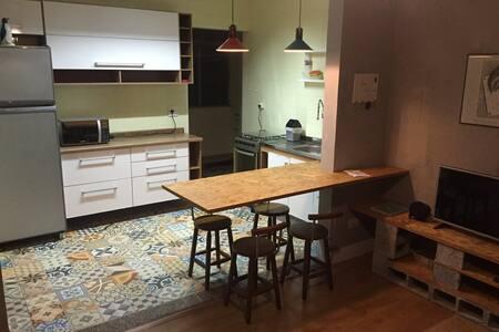 Cozy and Safe Full Featured Apartment - São Paulo - Huoneisto