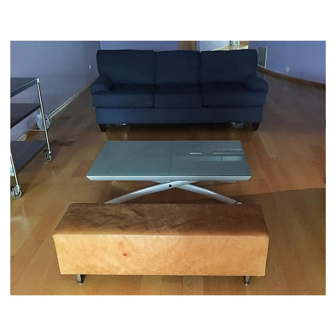 Table can be used as a desk.