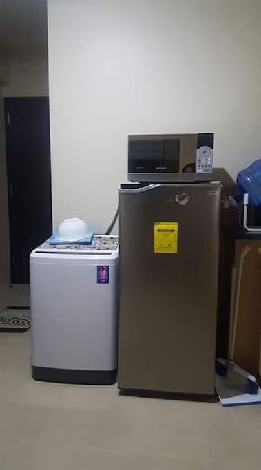 Automatic washing machine, refrigerator and microwave oven
