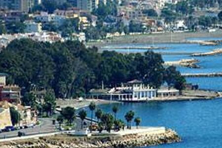Triple room by the Beach + Wifi - Málaga