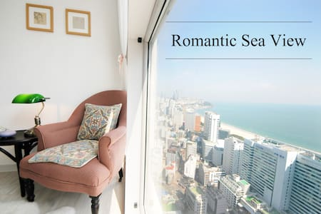 초고층 로맨틱 해운대 오션뷰! High-rise Romantic Ocean View ^^* - Haeundae-gu - Daire