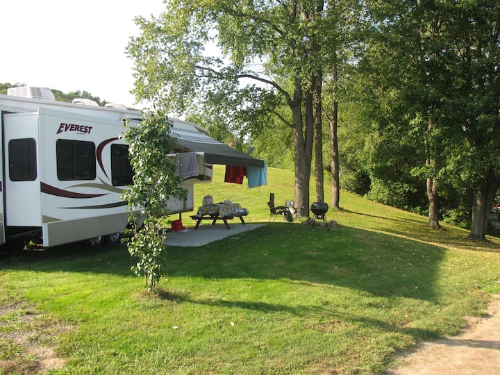 Deluxe RV at Tall Pines Campground