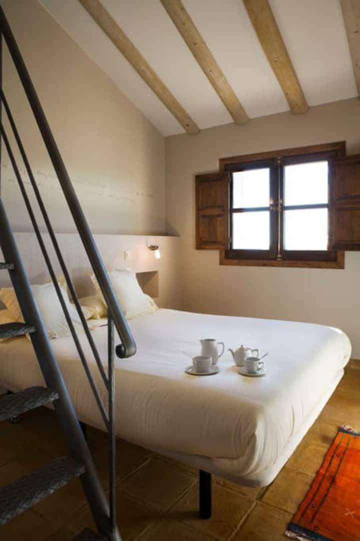 Habitación cuádruple, Hotel Rural La Data