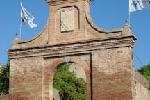 Town gates of Barchi