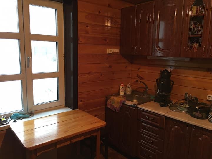 Уютный дом с баней в экологически чистом месте