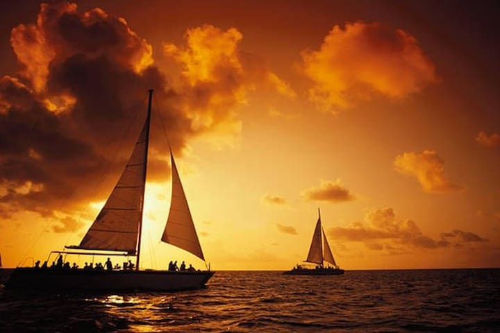 Aruba is notorious for it's spectacular sunsets... Pull up a seat! & enjoy the show!!!!