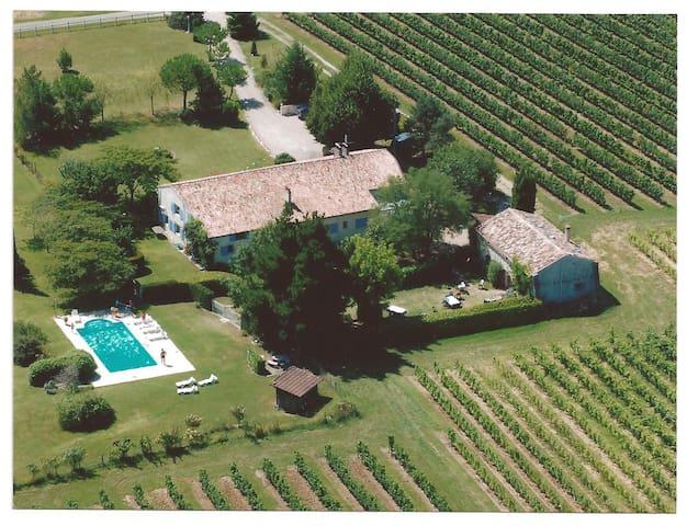 Le domaine du Vircoulon (30 persons) - Saint-Avit-de-Soulège - Casa