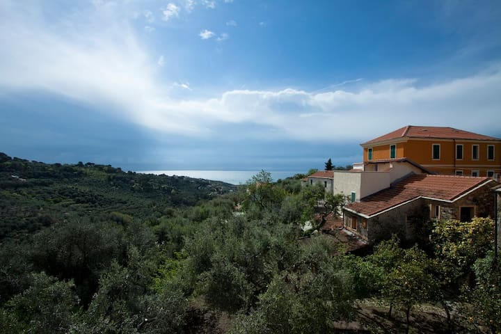 antica casa vista mare - Diano San Pietro - Lägenhet