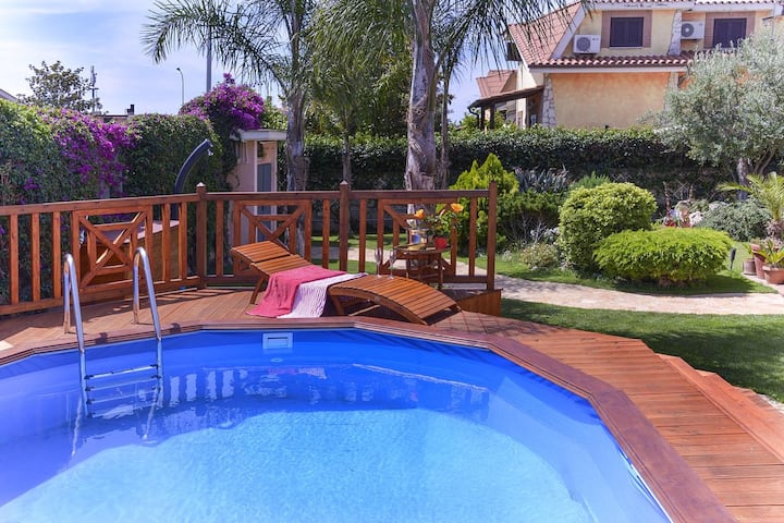 Villa with 4 bedrooms in Ladispoli, with private pool, enclosed garden and WiFi - 2 km from the beach