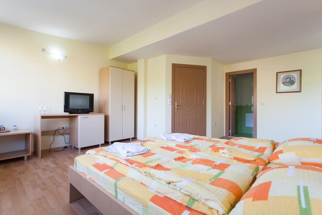 Spacious apartment (about 40 sqm) with all amenities