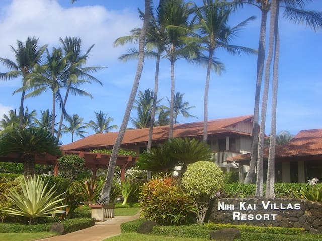 Luxury Poipu Beach 2/Bed 2/Bath Condo - Koloa - Selveierleilighet