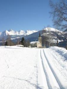Casa di montagna panoramica e vicina alle piste. - Fossaz