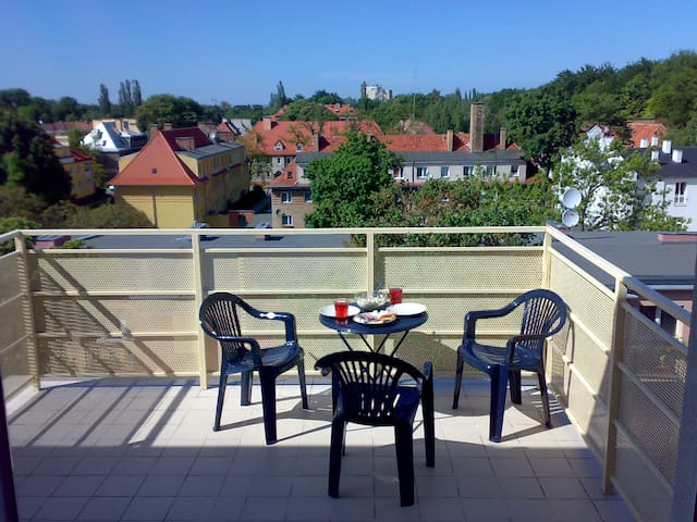 Studio with terrace at the park - Swinoujscie - Apartamento