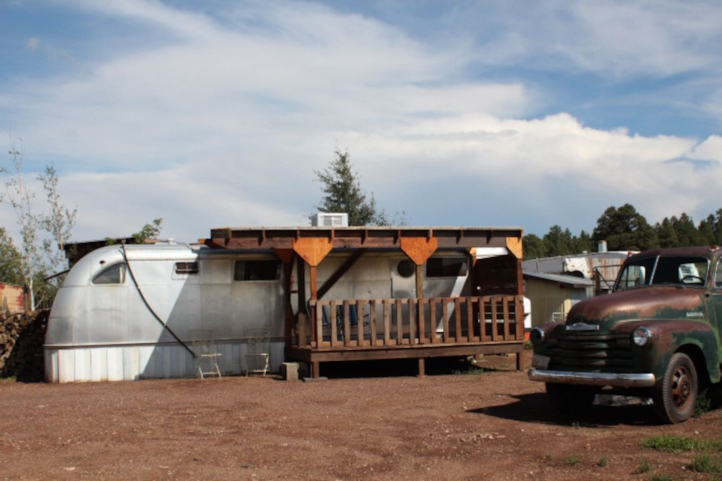 1950's Airstream Style Accomodation