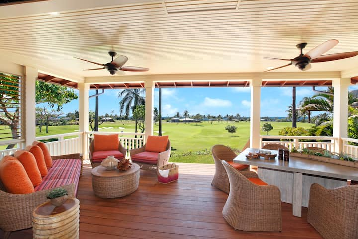 Kukui'ula 2 Bedroom Bungalow - Ocean View