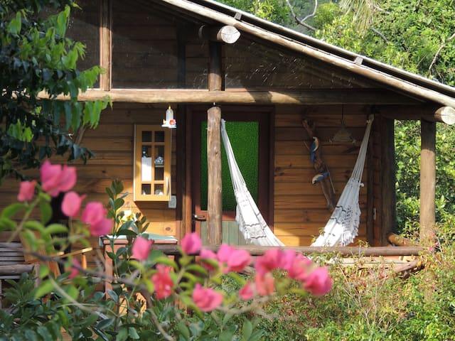 Cabin in Aruna Health Spa! - Florianópolis - Chalet