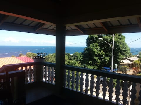 Ocean View Accommodation, Blanchisseuse
