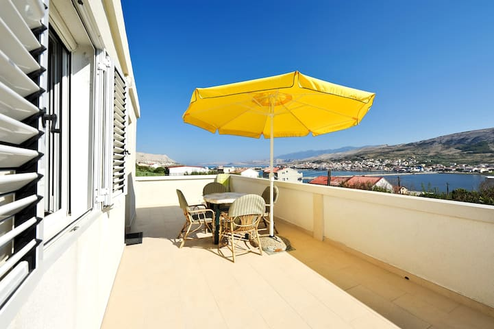 Bi Pi Apartment 4, Croatia, Pag, - Pag - Appartement