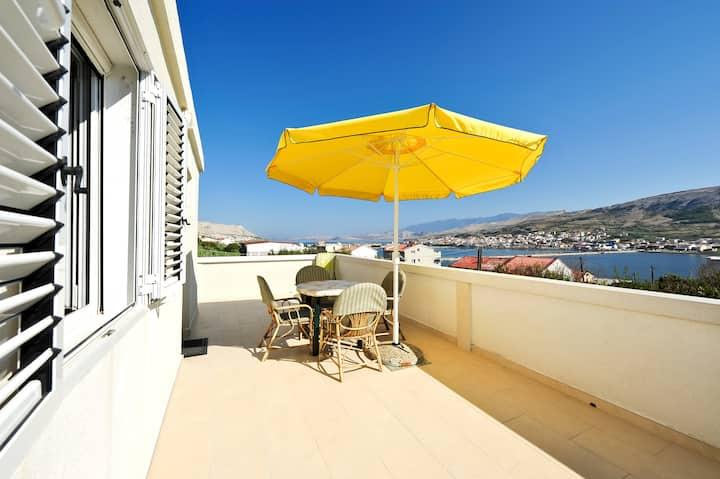 Bi Pi Apartment 4, Croatia, Pag,
