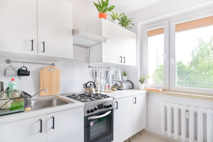 Homey apartment in northern Poznań! - Poznań - Apartment