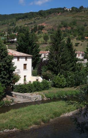 LE CLOS DES COLVERTS Gîte Rural - Campagne-sur-Aude - Apartemen