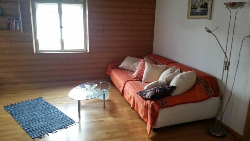 ruhiges, zentrales Appartement für 1 - 2 Personen