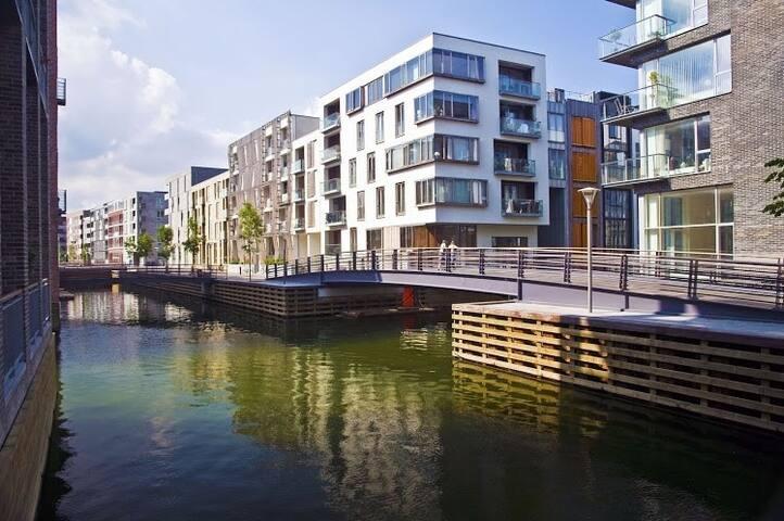 Cosy room in Copenhagens Canal District - Copenhagen