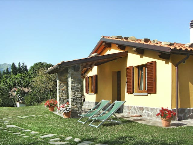 Holiday House Albereta in Bagni di Lucca for 4 persons