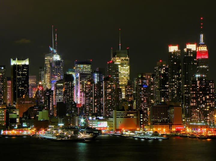 Love and Enjoy The NYC SkyLine Fabulous View