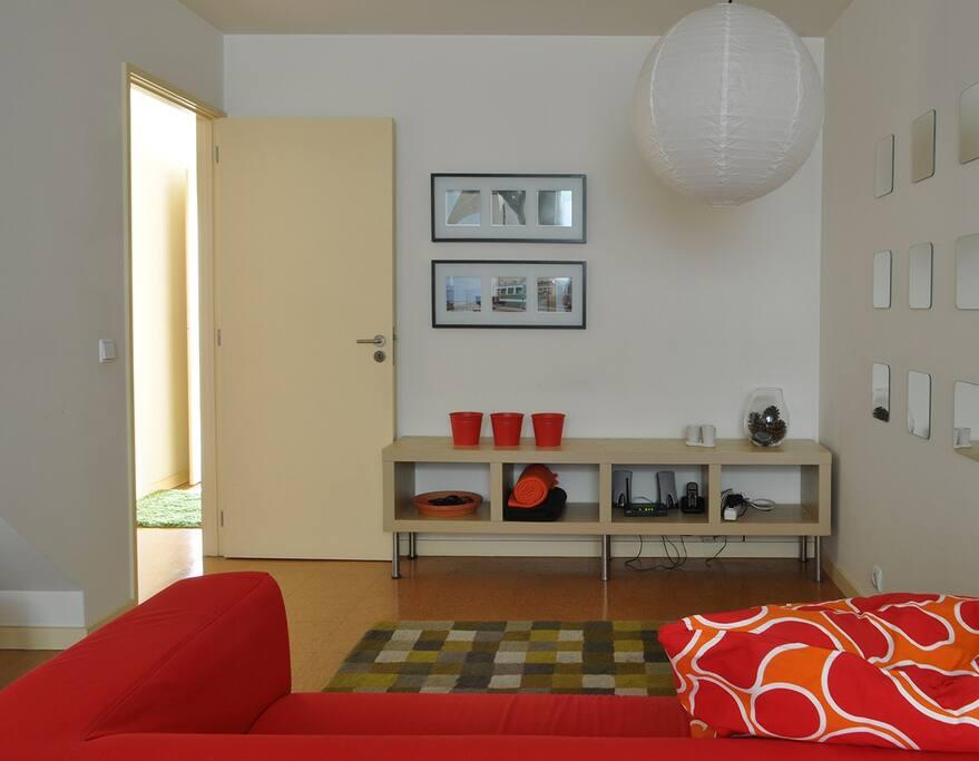 Sala de estar - Living room