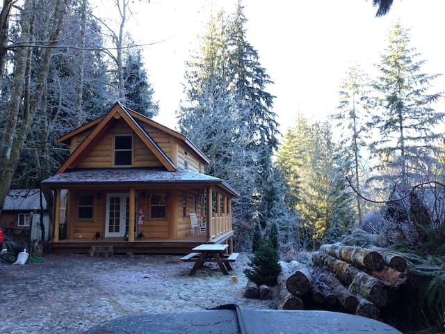 Mt Baker Cabin in the Woods - Glacier
