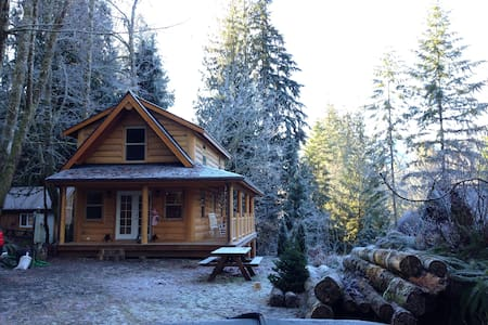 Mt Baker Cabin in the Woods - House
