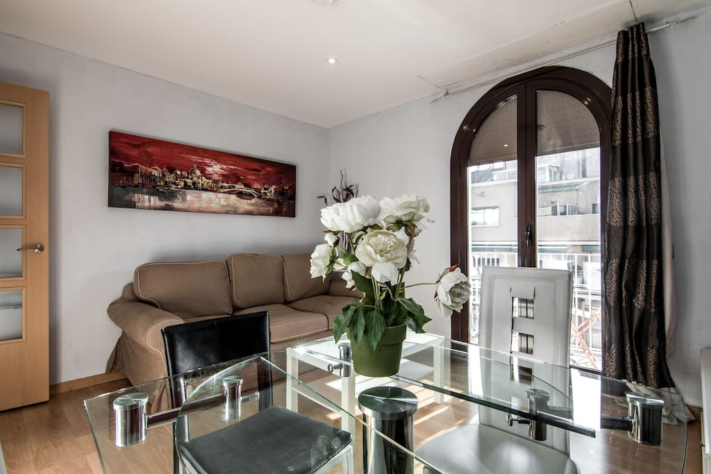Design flat in the very center 5 3 appartements louer for Location appartement design barcelone