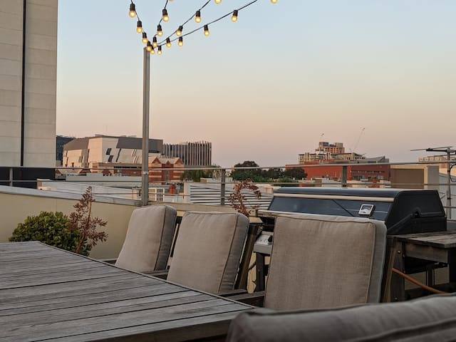 City Townhouse. Your own rooftop terrace