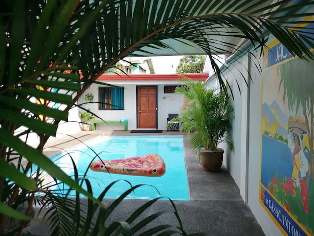 Private pool Private apt not a condominium no pets