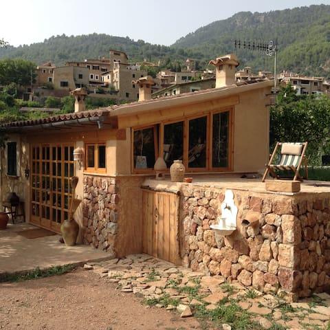 Bucólico huerto con casita - Fornalutx - Dom