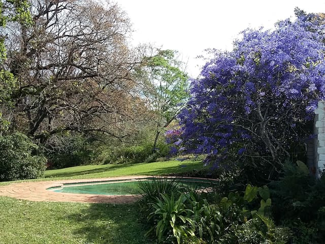 Large house and beautiful garden in Kloof, KZN