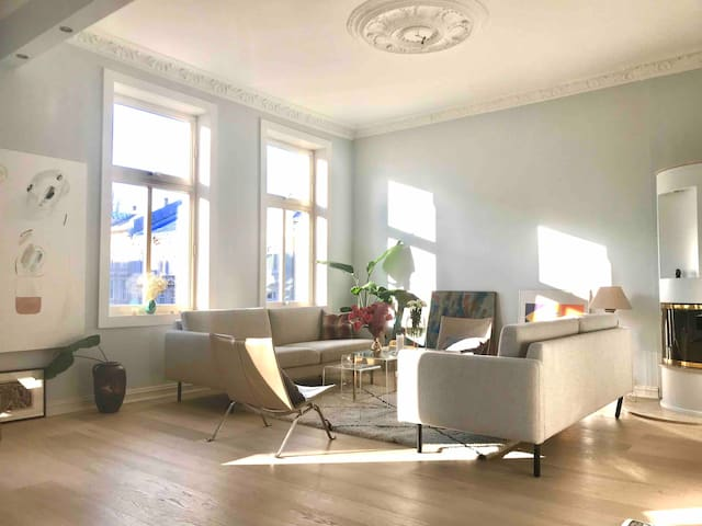 Bright and Unique flat in the Heart of  Frogner